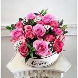 Gracias por la preferencia💕 #cajadeflores #rosasencaja #rosas #minirosas #pedidosadomicilio