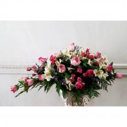 #rosas #minirosas #alstromeria #limonium #palmillas