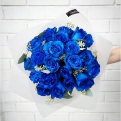 Un pedido especial con rosas azules~💙 #rosasazules #rosasazules💙 #rosaazul